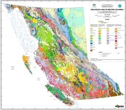 Geological Map of British Columbia